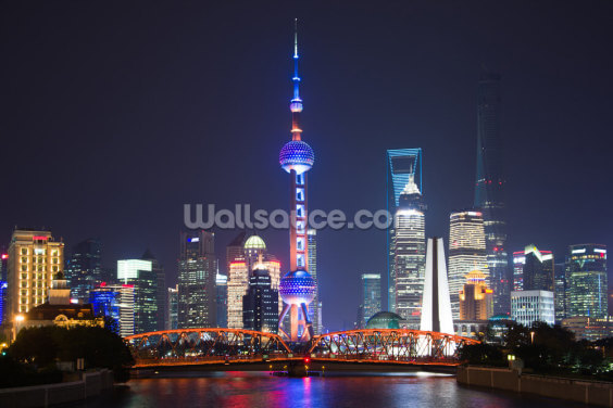 Pudong Shanghai Wallpaper Wall Murals