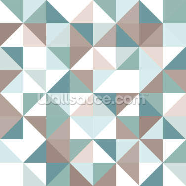 When Triangles are Squares Wallpaper Wall Murals