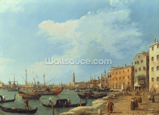 The Riva Degli Schiavoni, 1724-30 Wallpaper Wall Murals