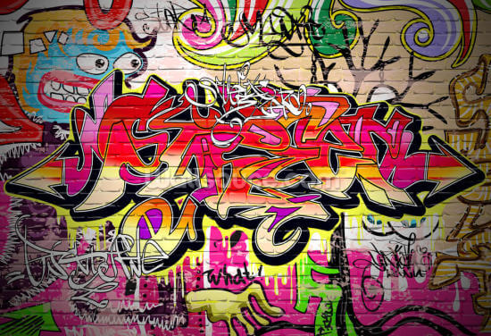 Graffiti Wall Wallpaper Wall Murals