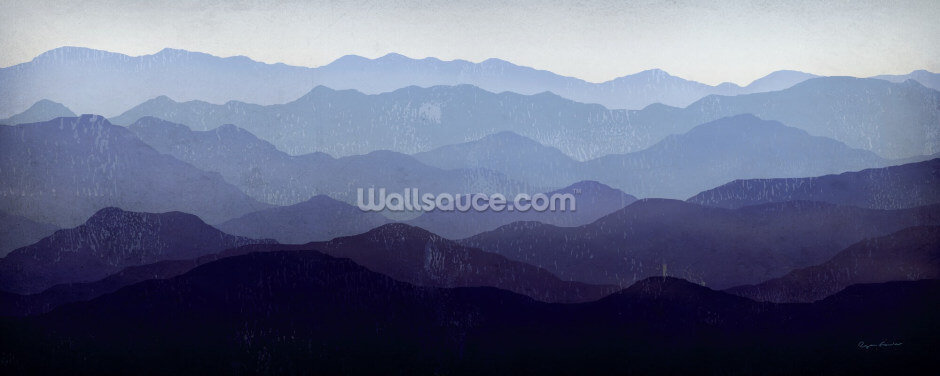 Purple Mountains Wallpaper Wall Murals