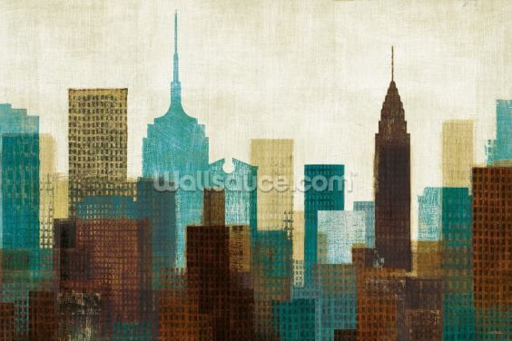Summer in the City II Wallpaper Wall Murals