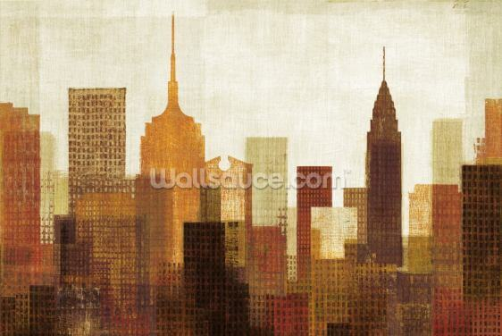 Summer in the City I Wallpaper Wall Murals