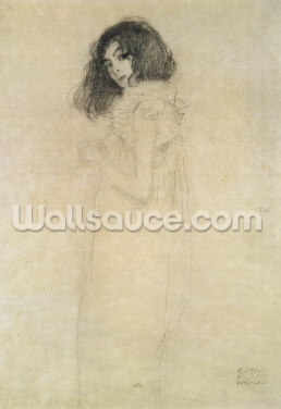 Portrait of a young woman, 1896-97 Wallpaper Wall Murals