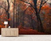 Decorative Forest wallpaper mural living room preview