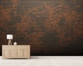 Mottled wall mural living room preview