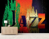Just Jazz wall mural living room preview