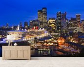 Queen Mary 2, Sydney wall mural living room preview