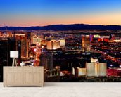 Las Vegas wallpaper mural living room preview