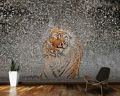 Tiger Splash wall mural kitchen preview
