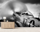 p-51 Fighter wall mural living room preview