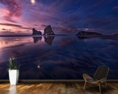 Golden Bay When Night Falls wall mural kitchen preview
