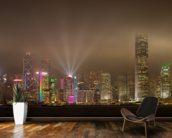 Hong Kong Lights wall mural kitchen preview