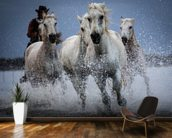 Cowboy Horses wall mural kitchen preview
