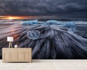 Wild Ice wall mural living room preview