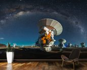 Space Observatory ALMA wallpaper mural kitchen preview