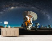 Space Observatory ALMA wallpaper mural living room preview