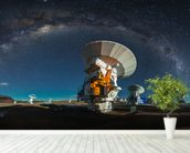 Space Observatory ALMA wallpaper mural in-room view