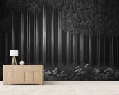 Afforestation mural wallpaper living room preview