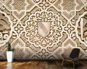 Beautiful Stonework, Alhambra mural wallpaper kitchen preview