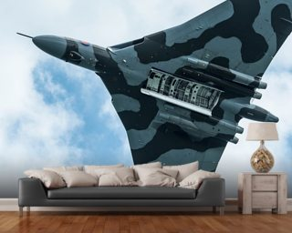 Vulcan Bomber Final Run mural wallpaper