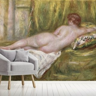 Reclining Nude from the Back, Rest after the Bath, c.1909 (oil on canvas) Wallpaper Wall Murals