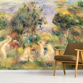 The Bathers Wallpaper Wall Murals