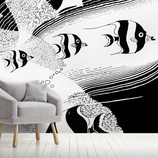 Reef Angelfish Illustration