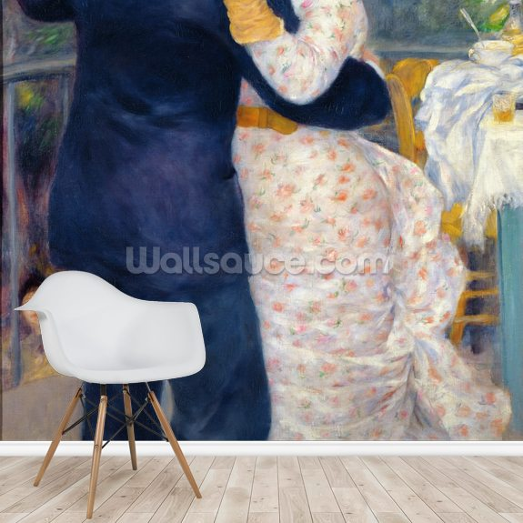 A Dance in the Country, 1883 (oil on canvas) wall mural room setting