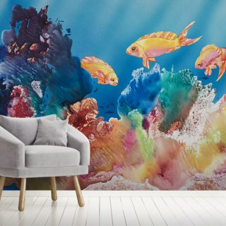 All Dressed Up - Tropical Reef Scene