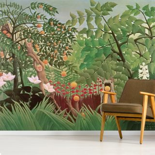 Exotic Landscape, 1910 Wallpaper Wall Murals