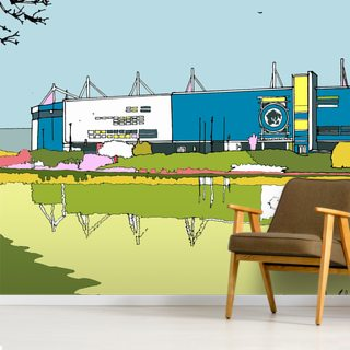 Leicester City Stadium Wallpaper Wall Murals