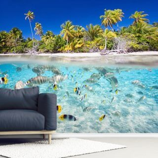 Tropical Island Wallpaper Wall Murals