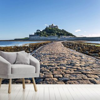 St Michaels Mount, Cornwall Wallpaper Wall Murals