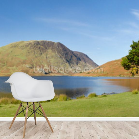 Crummock Water Panoramic wall mural room setting
