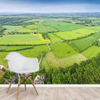 The Cotswolds, Ariel View