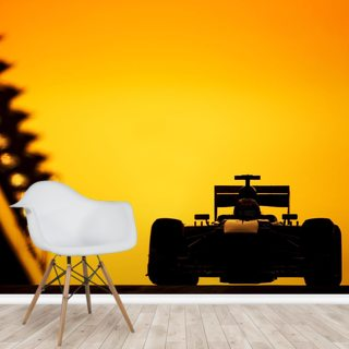 F1 Car Sunset, Abu Dhabi 2013