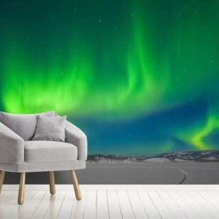 Aurora Borealis Wallpaper Wall Murals