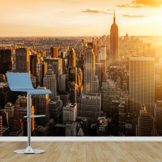 Sunrise New York Wallpaper Wall Murals