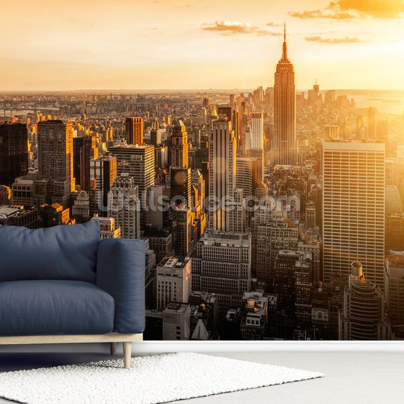 Sunrise New York Wallpaper Mural