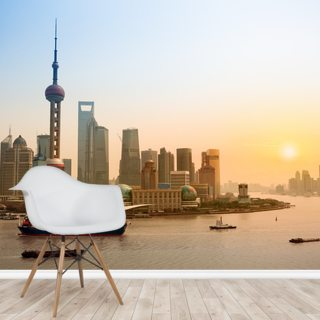 Shanghai Wallpaper Wall Murals
