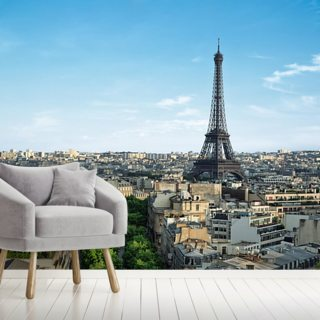 Paris City Wallpaper Wall Murals