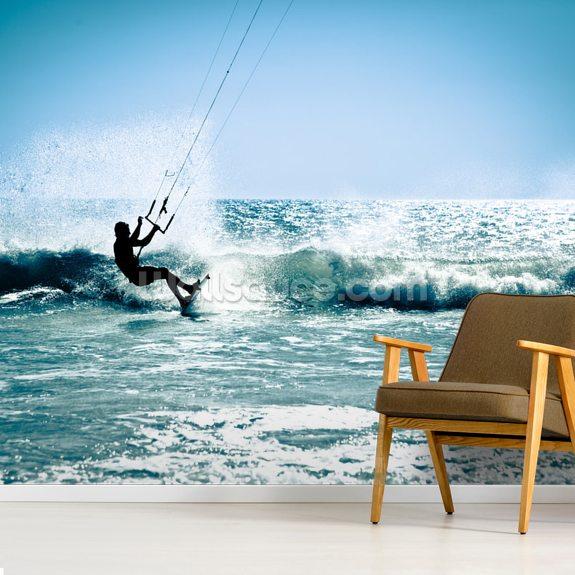 Kite Surfing In Waves Wallsauce Au