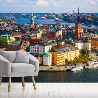 Stockholm Wallpaper Wall Murals