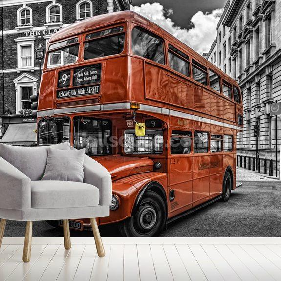 London Bus Colourwash