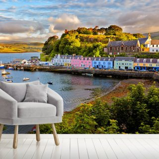 Portree, Isle of Skye Wallpaper Wall Murals