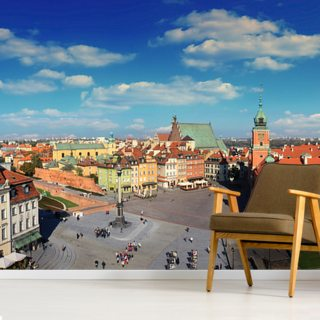 Warsaw Old Town Wallpaper Wall Murals