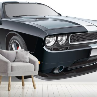American Muscle Wallpaper Wall Murals