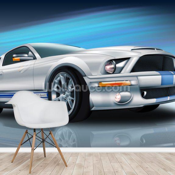 American Muscle Cars Wallpaper Mural Wallsauce Uk