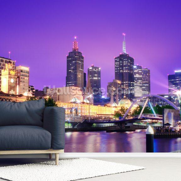 Melbourne Australia Wallpaper Mural Wallsauce Au